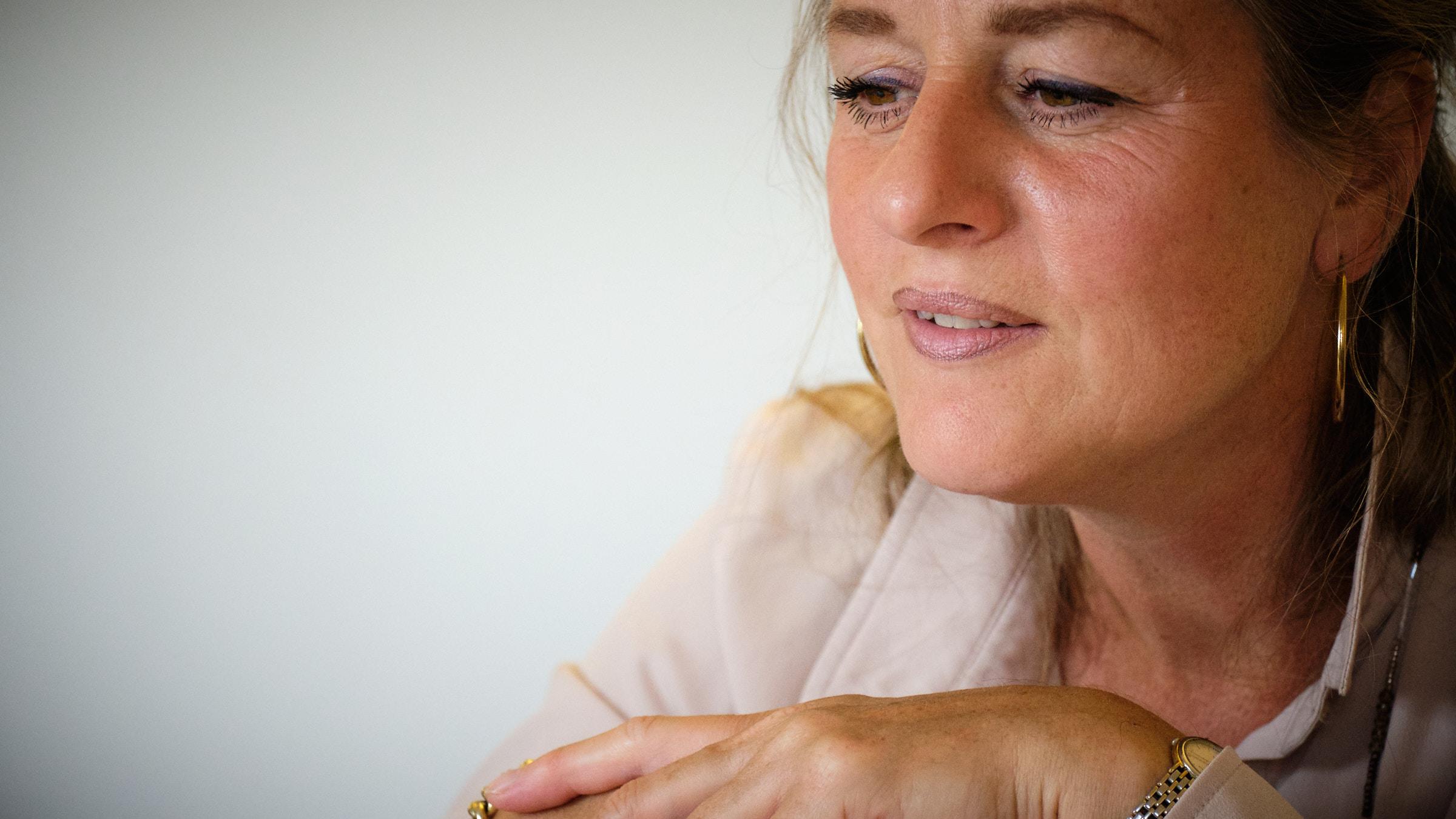 Cartografisch consulent Renée Rosenboom lachend