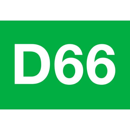 Logo D66 link site