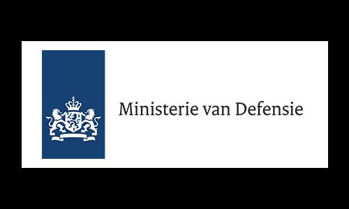 Logo Ministerie van Defensie link site